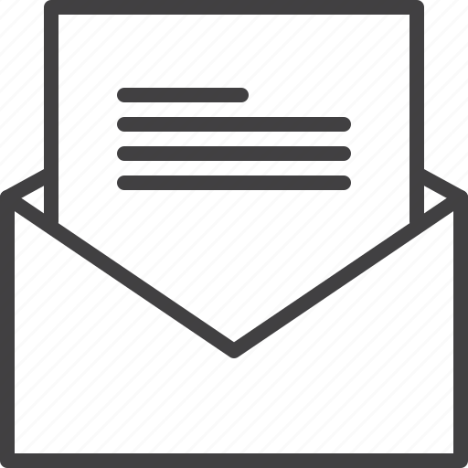 envelope, letter, message icon