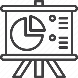 board, chart, flip icon