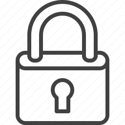 lock, padlock, password icon