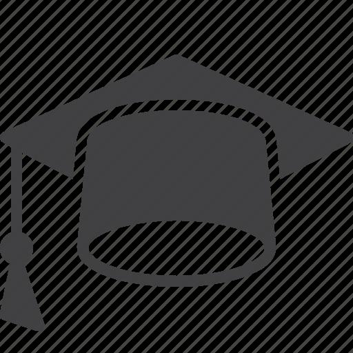 cap, education, graduation, hat, mortarboard icon