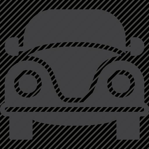 car, classic, old, retro icon