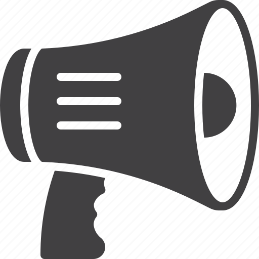 advertisement, bullhoarn, megaphone icon