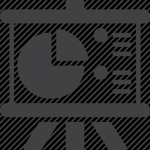 board, chart icon