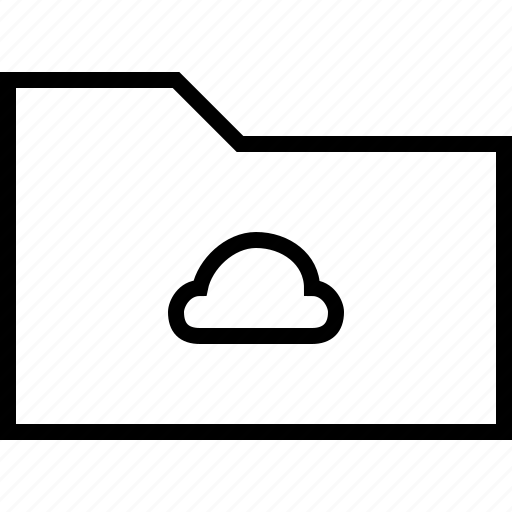 cloud, cloudy, file, folder, rain, weather icon