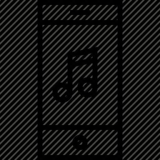 note, smartphone icon