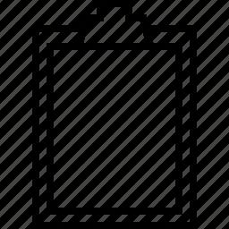 clipbord, todolist icon