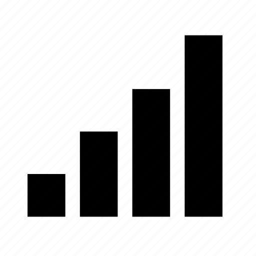 analytics, chart, finance, full, graph, signal, ui icon