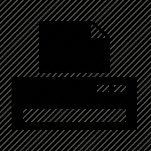 document, file, paper, print, printer, ui icon