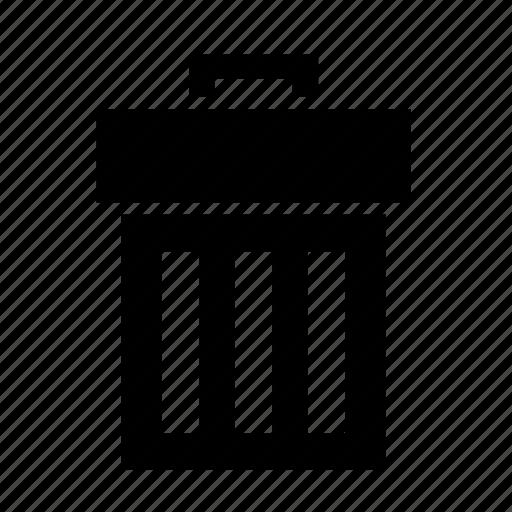 bin, delete, garbage, recycle, remove, trash, ui icon
