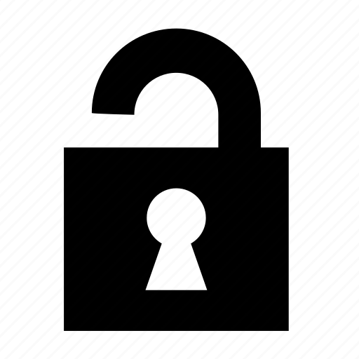 password, protection, security, ui, unlock, unsafe, unsecure icon
