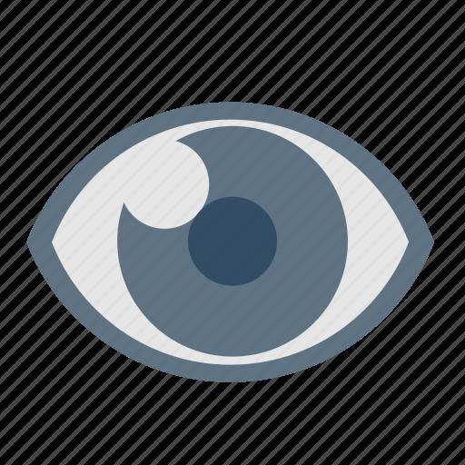 basic, dashboard, eye, eyes, ui, view, vision icon