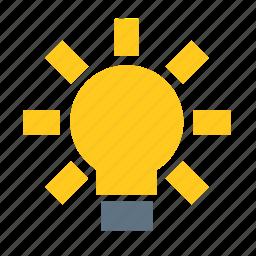 basic, dashboard, idea, information, lamp, smart, ui icon