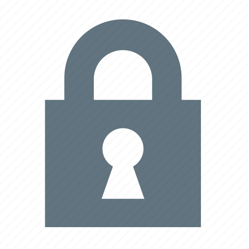 basic, dashboard, lock, safe, secure, ui icon