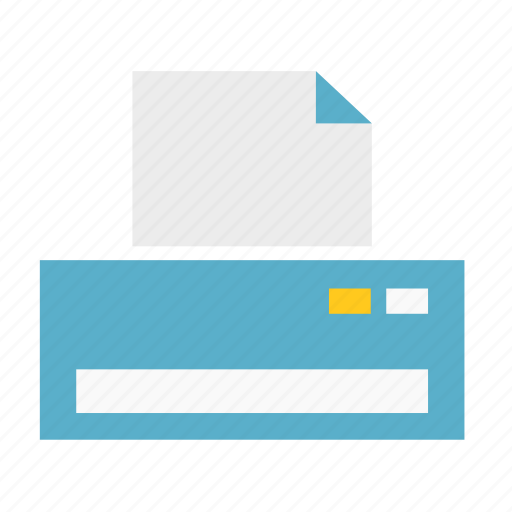 basic, dashboard, paper, print, printer, ui icon