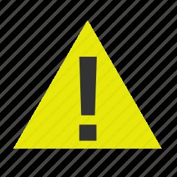 basic, caution, dashboard, mark, ui, warn, warning icon