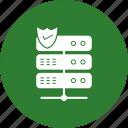 protect, server, shield icon