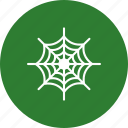 halloween, spider, web icon