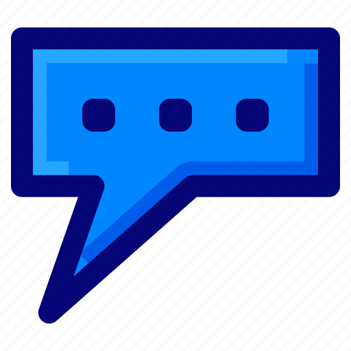 bubble chat, chat, communication, message icon
