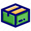 archive, package, parcel icon