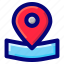 gps, location pointer, location tracker, maps icon