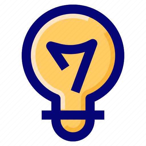 Bulb, idea, light, solution icon - Download on Iconfinder
