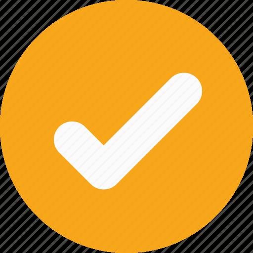 accept, check, done, success, tick icon