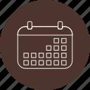 calendar, event, month icon