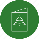 card, christmas, holiday icon