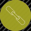 attachment, connect, link icon