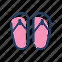 beach, clothing, fashion, foot, sandal, stuffs, uniform icon