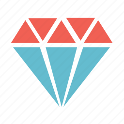 award, basic, diamond, gem, gemstone, jewel icon