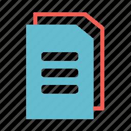 basic, document, documents, folder, open, paper icon