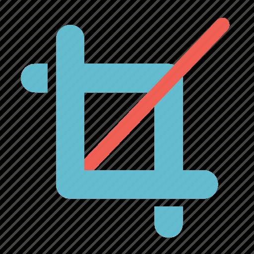 basic, crop, photoshop, square, transform icon