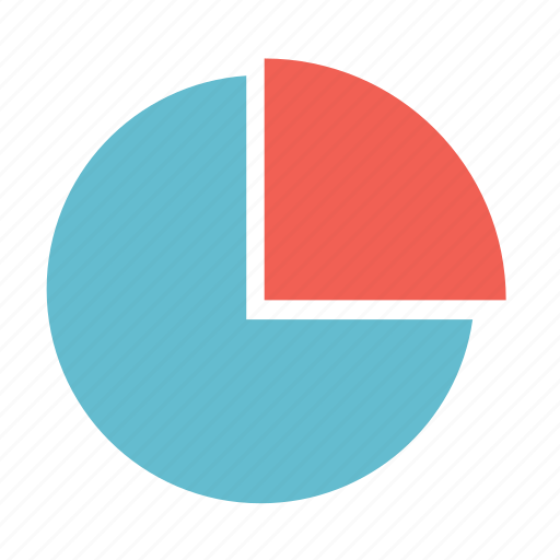 basic, chart, graph, pie, pie chart, statistics icon