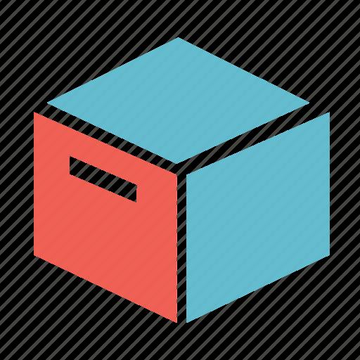add, archive, basic, box, file icon