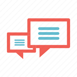 basic, bulb, chat, comments, talk icon