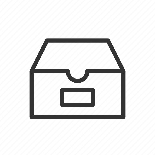 archive, document, file, interface, minimalist, ui, ux icon
