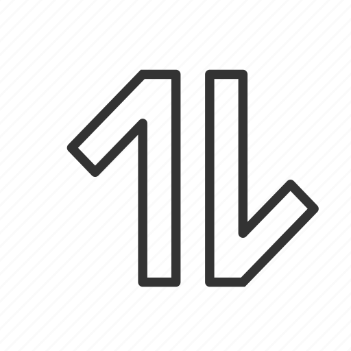 asscending, descending, minimalist, sort, sorting, ui, ux icon