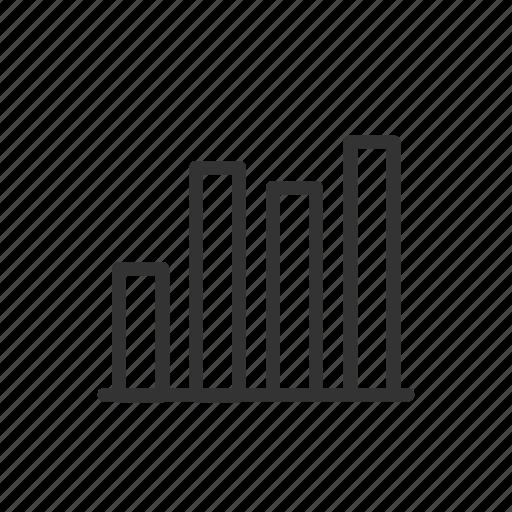 analyze, bar, chart, graph, seo, ui, ux icon