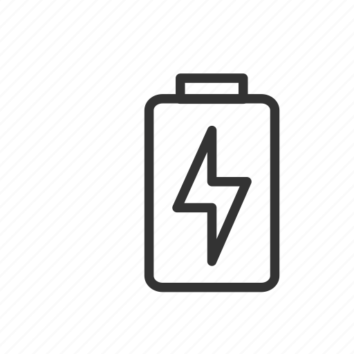battery, charge, charging, minimalist, power, ui, ux icon
