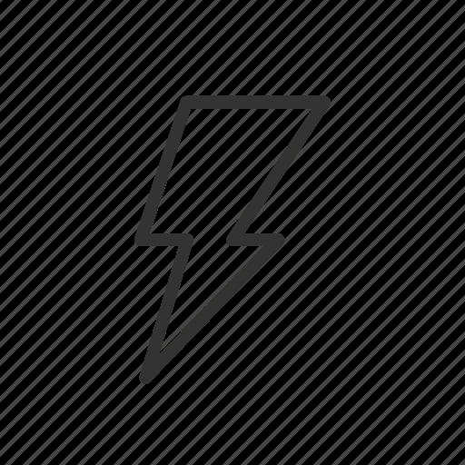 bolt, charging, minimalist, power, thunder, ui, ux icon