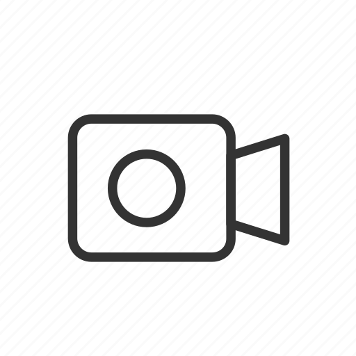 camera, minimalist, movie, record, ui, ux, video icon