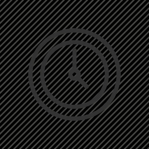 clock, duration, minimalist, time, timer, ui, ux icon