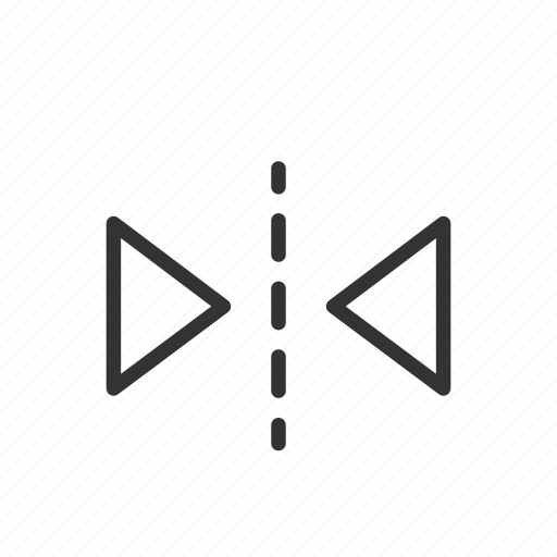 duplicate, edit, flip, interface, mirror, ui, ux icon