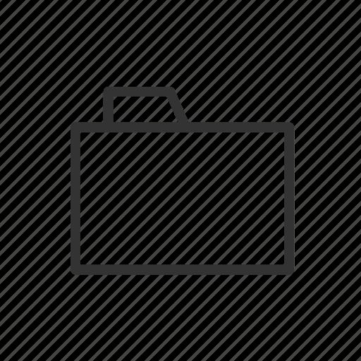 archive, document, file, folder, minimalist, ui, ux icon