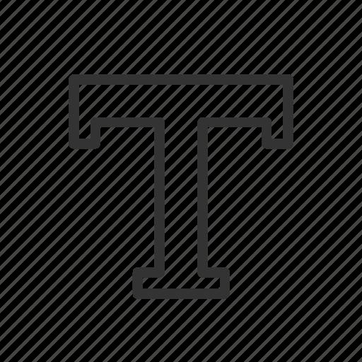 font, minimalist, text, typing, ui, ux, write icon
