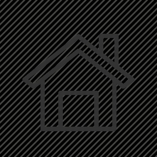 Dashboard Home House Minimalist Ui Ux Web Icon