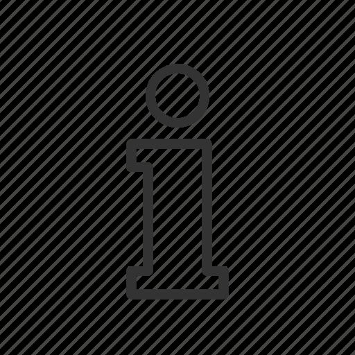 help, hint, information, minimalist, support, ui, ux icon