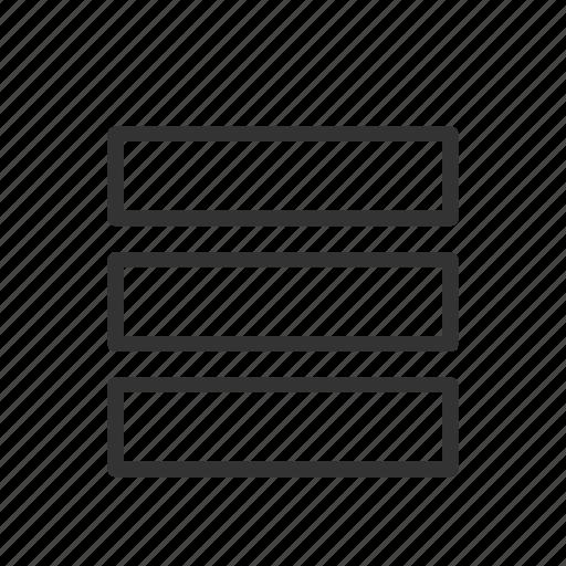 interface, list, minimalist, page, style, ui, ux icon
