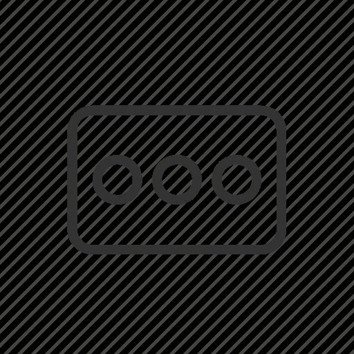 dashboard, interface, menu, minimalist, option, ui, ux icon